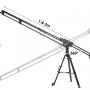 Slidekamera X-Crane